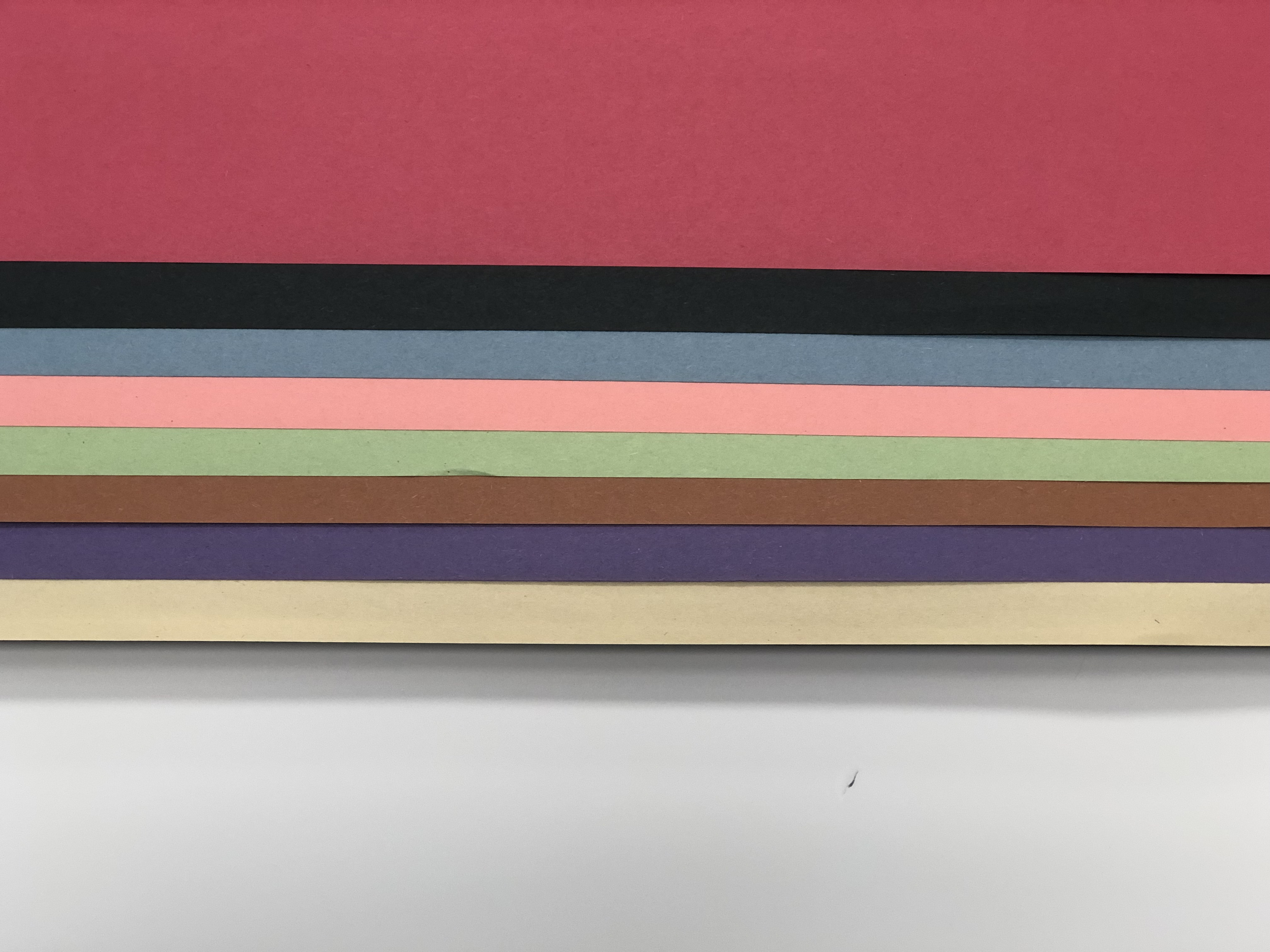 """1414 038 Assorted Construction Paper - 24"""" x 36"""""""
