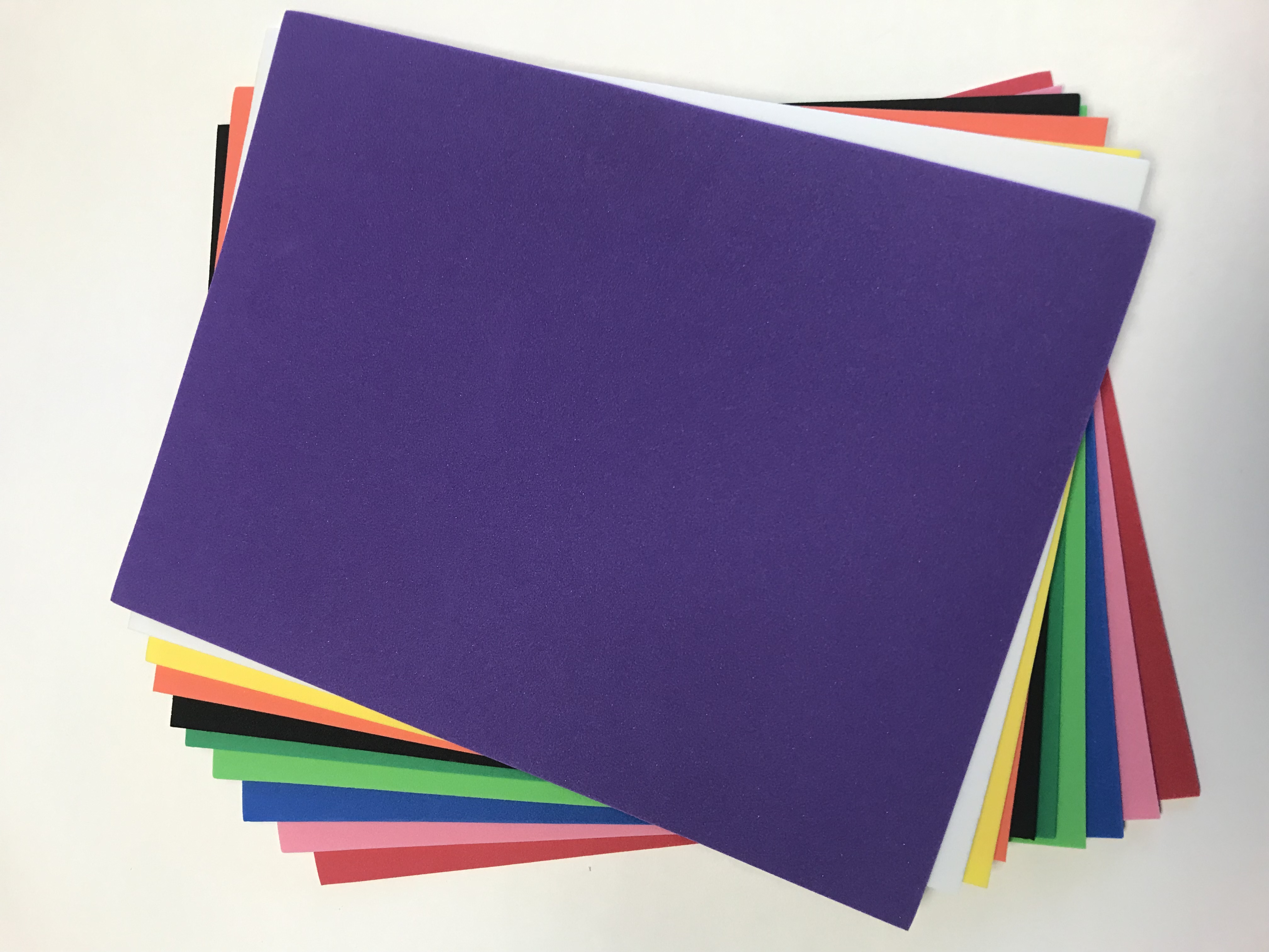 "R8 Craft Foam Assorted Colours - 9"" x 12"""