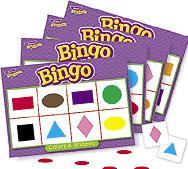 Trend T6061 Games Bingo - Colours and Shapes