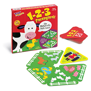 Trend T76009 Farmyard Math Game