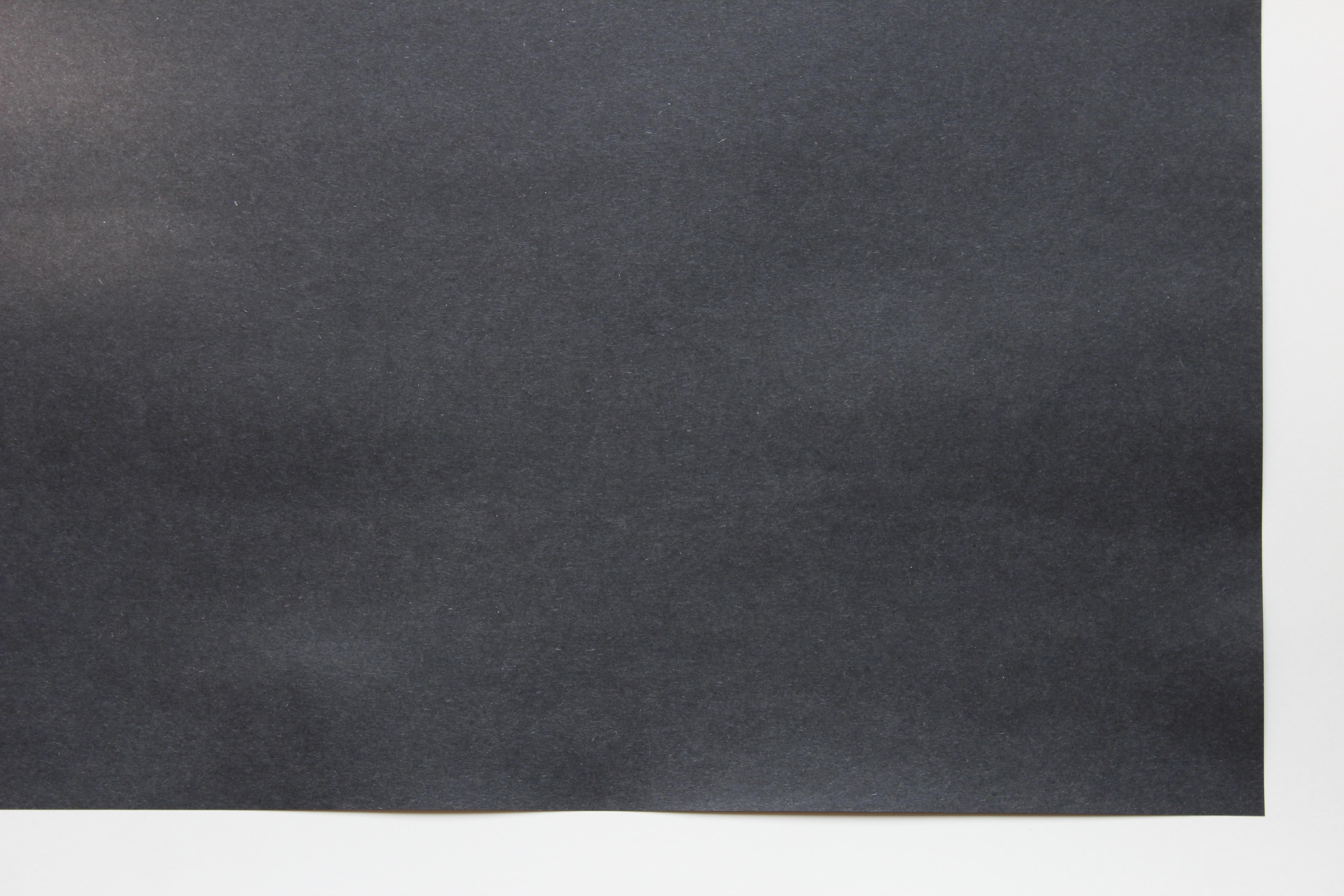 """0222 135 2 Ply Black Deluxe Bristol Board - 22"""" x 28"""""""