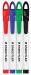 Staedtler 34712 Triplus Dry Erase Marker Red - Fine
