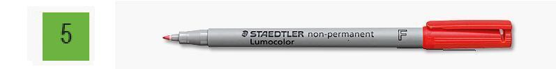 Staedtler 3165 Overhead Projector Marker Non Permanent Green - Fine