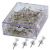 Push Pins Clear - 100/pk - 46-125