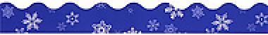 """Trend T9859 Terrific Trimmers Snowflakes - 2 1/4"""" x 39"""""""