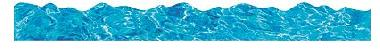"Trend T92383 Terrific Trimmers Blue Water - 2 1/4"" x 39"""