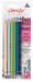 Conte Pastel Landscape Pencil Assorted Colour - -   6/pkg -