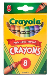 Crayola 520008 Crayons - 8/pack